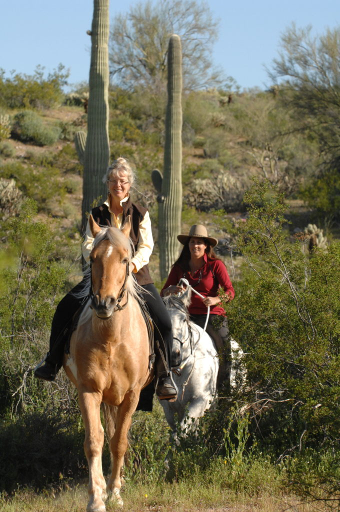 """Trail riding with Tina Giordano, Parelli 4-star Instructor."""