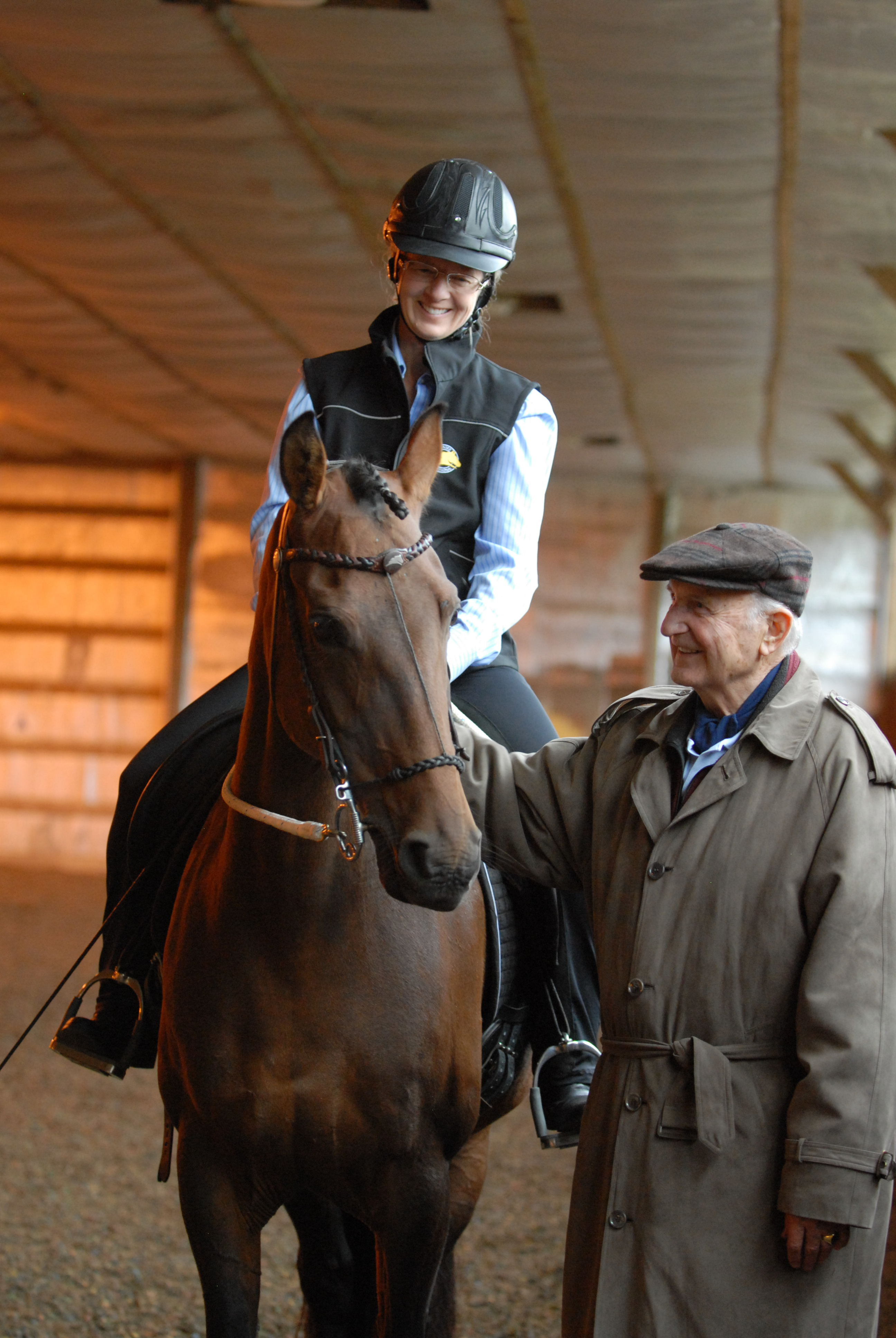 A 2010 dressage lesson with Walter Zettl at Houghton College, NY